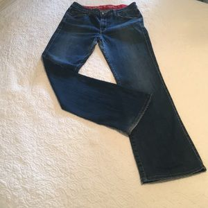 Cookie Johnson Jeans - Bootcut Denim Jeans by Cookie Johnson Grace